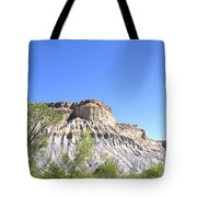 Caineville Mesa Caineville Utah Tote Bag