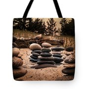 Cairn Whitefish Point Michigan Tote Bag