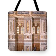 Cairo Interior Of The Mosque Tote Bag