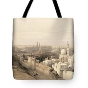 Cairo Looking West, From Egypt Tote Bag