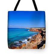 Cala Saona On Formentera Tote Bag