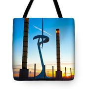 Calatrava Tower - Barcelona Tote Bag
