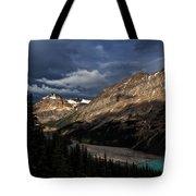 Caldron Peak  Tote Bag