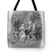 Caleb Plummer And His Blind Daughter Tote Bag
