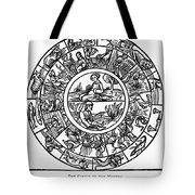Calendar, 1503 Tote Bag