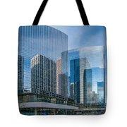Calgary Glass Tote Bag