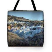 Calhan Paint Mines Landscape Tote Bag