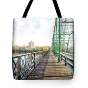 Calhoun Street Bridge Walkway Tote Bag