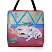 Calico And Friends Tote Bag