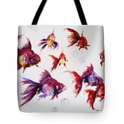 Calico Ryukin Goldfish Tote Bag