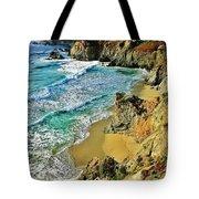 Californa Shore Tote Bag by Benjamin Yeager