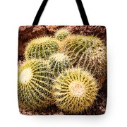 California Barrel Cactus Tote Bag