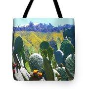 California Big Sur Flowers Tote Bag