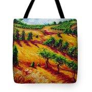 California Chardonnay Tote Bag