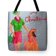 California Christmas Tote Bag