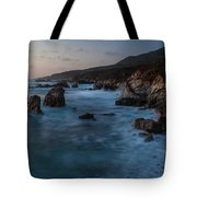 California Coast Dusk Tote Bag