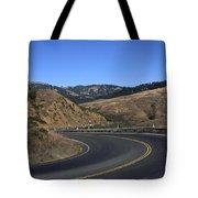 California Curve Tote Bag