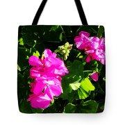 California Flowers Tote Bag