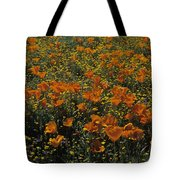 California Gold Poppies Tote Bag