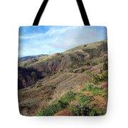 California Hillside Tote Bag