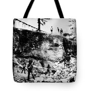 California: Mining, 1850s Tote Bag