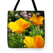 California Poppies In October Tote Bag