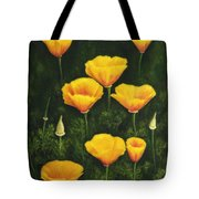California Poppy Tote Bag by Veikko Suikkanen