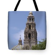 California Tower, Balboa Park, San Diego, California Tote Bag