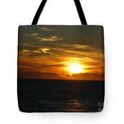 California Winter Sunset Tote Bag