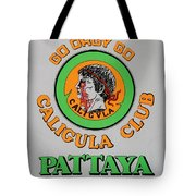 Caligvla Tote Bag