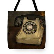 Call Me And Whisper Tote Bag