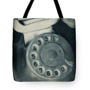 Call Me Yesterday Tote Bag