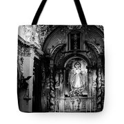 Call Of God Bw Tote Bag
