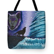 Call Of The Wolf Tote Bag