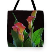 Calla Lilies 2  Tote Bag