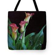 Calla Lilies 3 Tote Bag