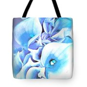 Calla Lilly So Soft Lilac And Blue Tote Bag