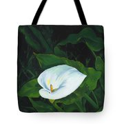 Calla Lily In The Garden Of Diego And Frida Tote Bag