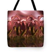 Calla Lily Island Tote Bag
