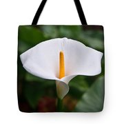 Calla Lily Laterally Expanded Tote Bag