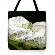 Calla Lily Sketch Tote Bag