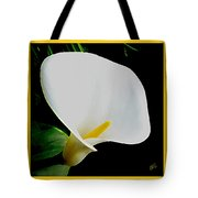 Calla Lily Spectacular Tote Bag