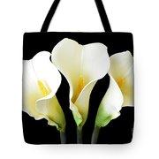 Calla Lily Trio Tote Bag