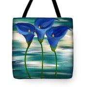 Calla Trio- Calla Lily Paintings Tote Bag