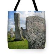 Callanish Looking Northeast Tote Bag