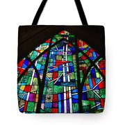 Callaway Gardens Chapel Stained Glass Tote Bag