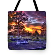 Callaway Graves At Sunset Tote Bag
