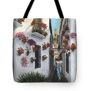 Calleje De Las Flores Cordoba Spain Tote Bag