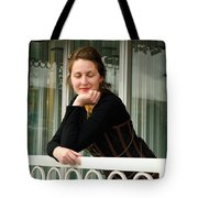 Calley Taking It All In Tote Bag