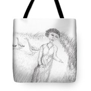 Calling In The Geese Tote Bag